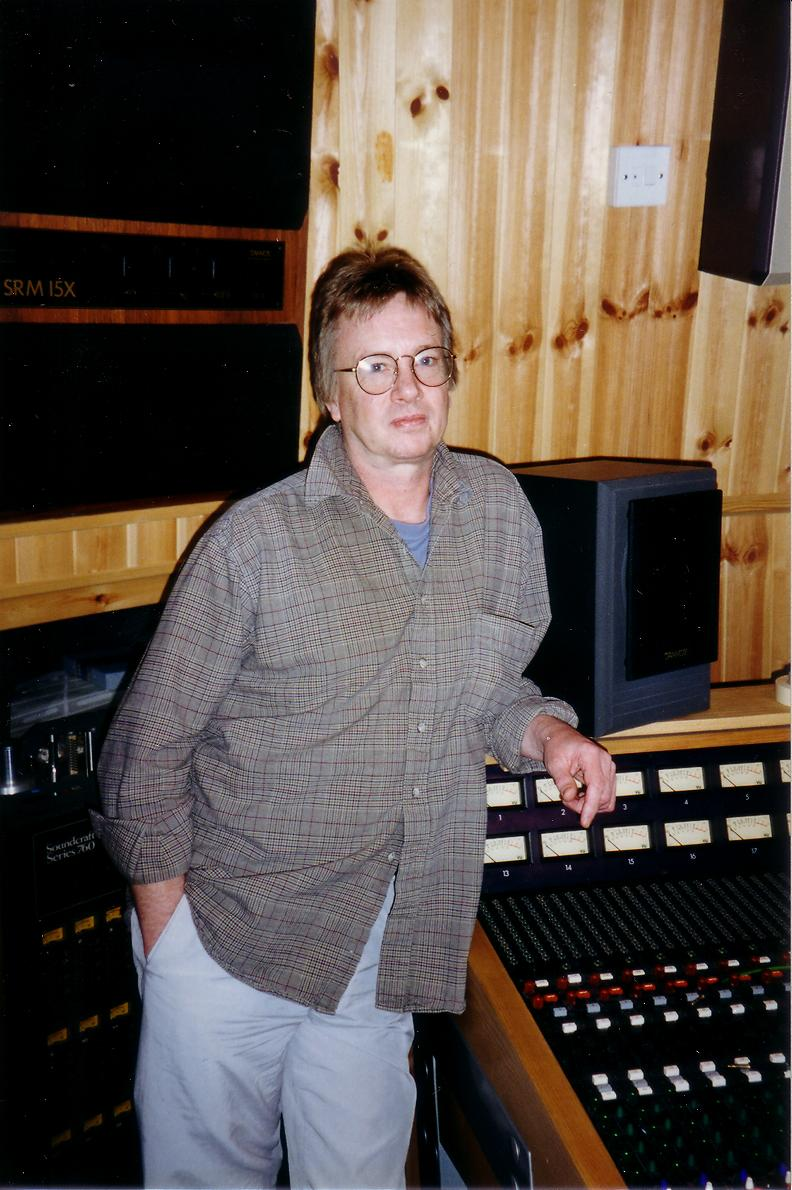 1996Mel.jpg - Mel at Friarmere during the recording of River Of Dreams, September 1996