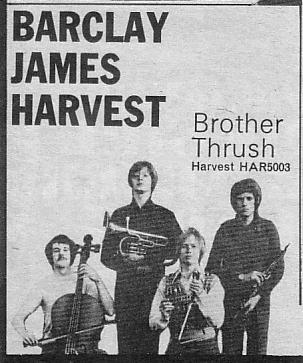Advert from NME, 21st June, 1969