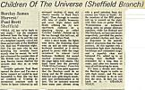 Sheffield City Hall review, Sounds, October 1977