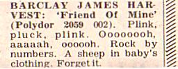 Record Mirror review of 'Friend Of Mine', 11th March 1978