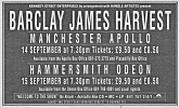 Advert for Manchester concert, 1990