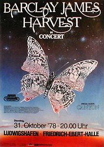 Poster for Offenbach concert, 31st October, 1978