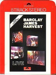Barclay James Harvest Live UK cartridge