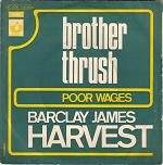 Barclay James Harvest - Brother Thrush French picture sleeve (click for larger picture)