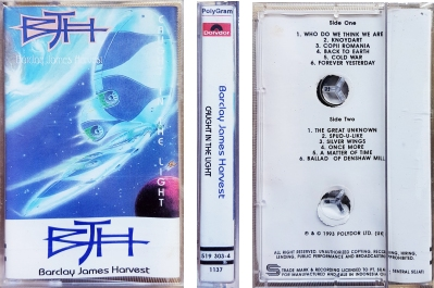 Indonesia Caught In The Light cassette