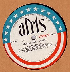 American Forces Radio and Television Service promo LP