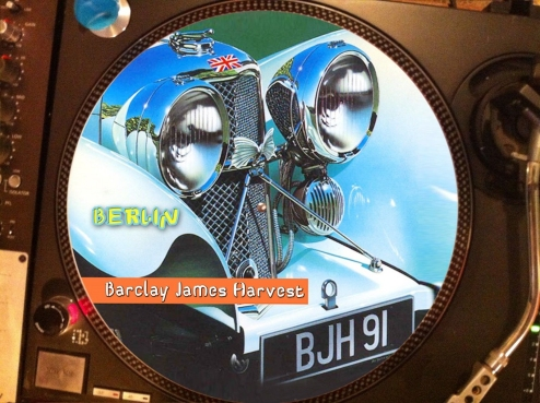 12 inch bootleg picture disc of 'Berlin'