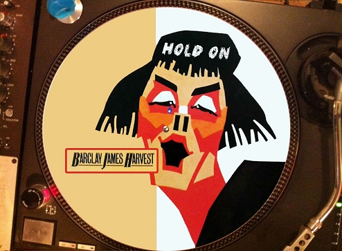 12 inch bootleg picture disc of 'Hold On'