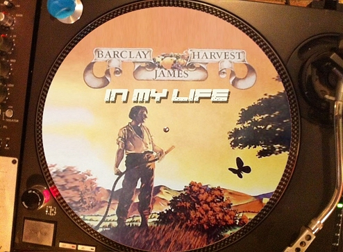12 inch bootleg picture disc of 'In My Life'