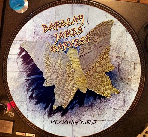 12 inch bootleg picture disc of 'Mocking Bird'