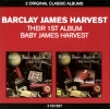 Their First Album/Baby James Harvest double CD cover
