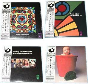 Japanese EMI card sleeve CDs