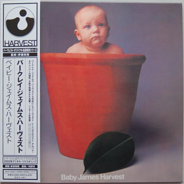 Baby James Harvest Japanese mini-LP sleeve
