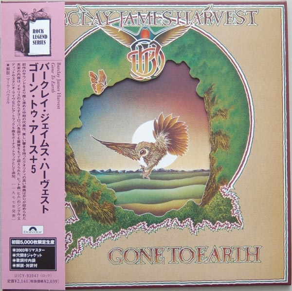 Gone To Earth Japanese mini-LP cover