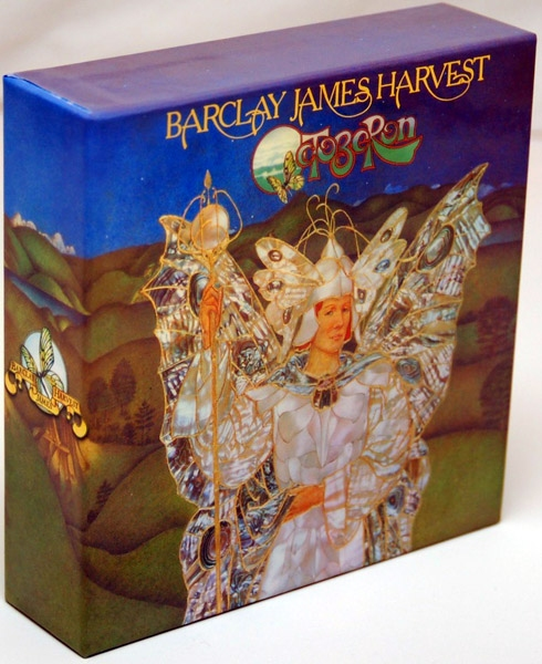 Disk Union box for Barclay James Harvest Polydor mini LPs