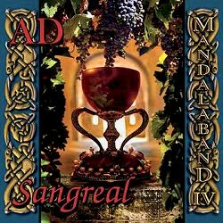 Mandalaband 'AD - Sangreal' CD cover