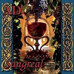 Mandalaband 'AD - Sangreal' CD cover