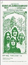 1972 Newcastle City Hall flyer