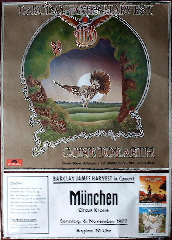 Barclay James Harvest Posters