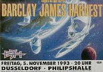 1993 D�sseldorf Philipshalle poster (cancelled tour)