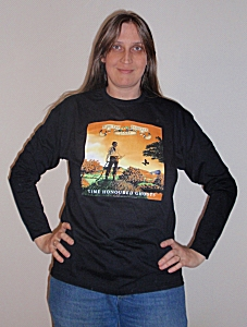 Time Honoured Ghosts T-Shirt, long-sleeved (front)