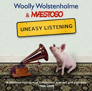 Woolly Wolstenholme and Maestoso - Uneasy Listening CD artwork